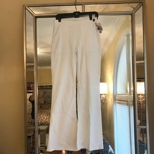 NWT F21 White High Waisted Stretch Flare Jeans